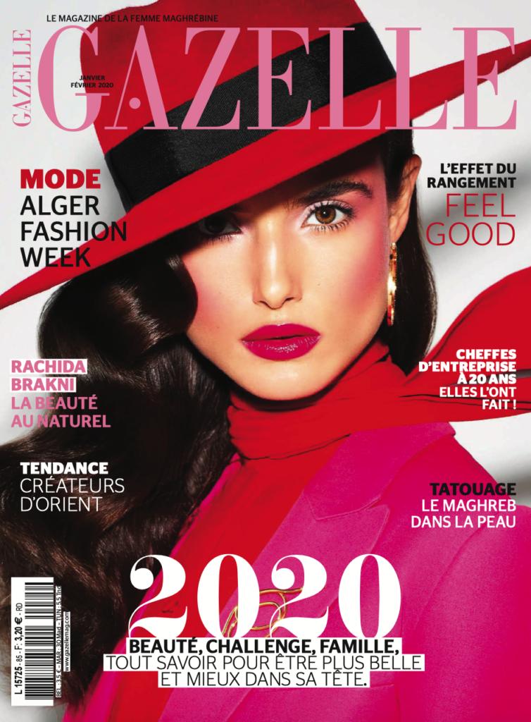 couverture magazine Gazelle janvier février 2020